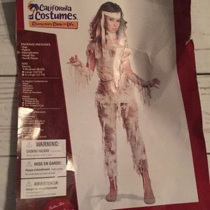 Teen Girls Mysterious Mummy Costume